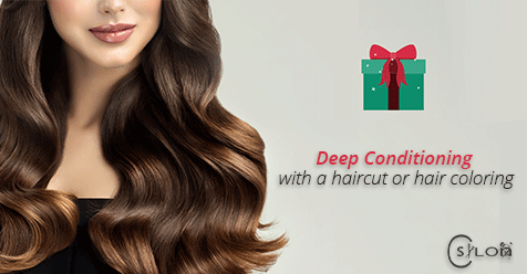 November Special: Deep Conditioning with a haircut or hair coloring! Last Day is Tomorrow! | C Salon