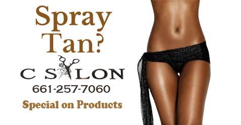 C Salon SCV – Get a Spray Tan and Get Our Special
